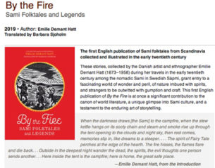 By the Fire Sami Folktales and Legends with Barbara Sjoholm @ Fitger's Spirit of the North Theater